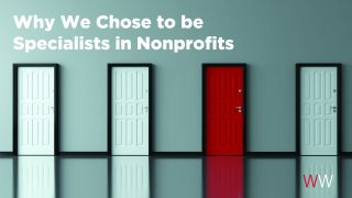 Why We Chose to Specialize in Nonprofits