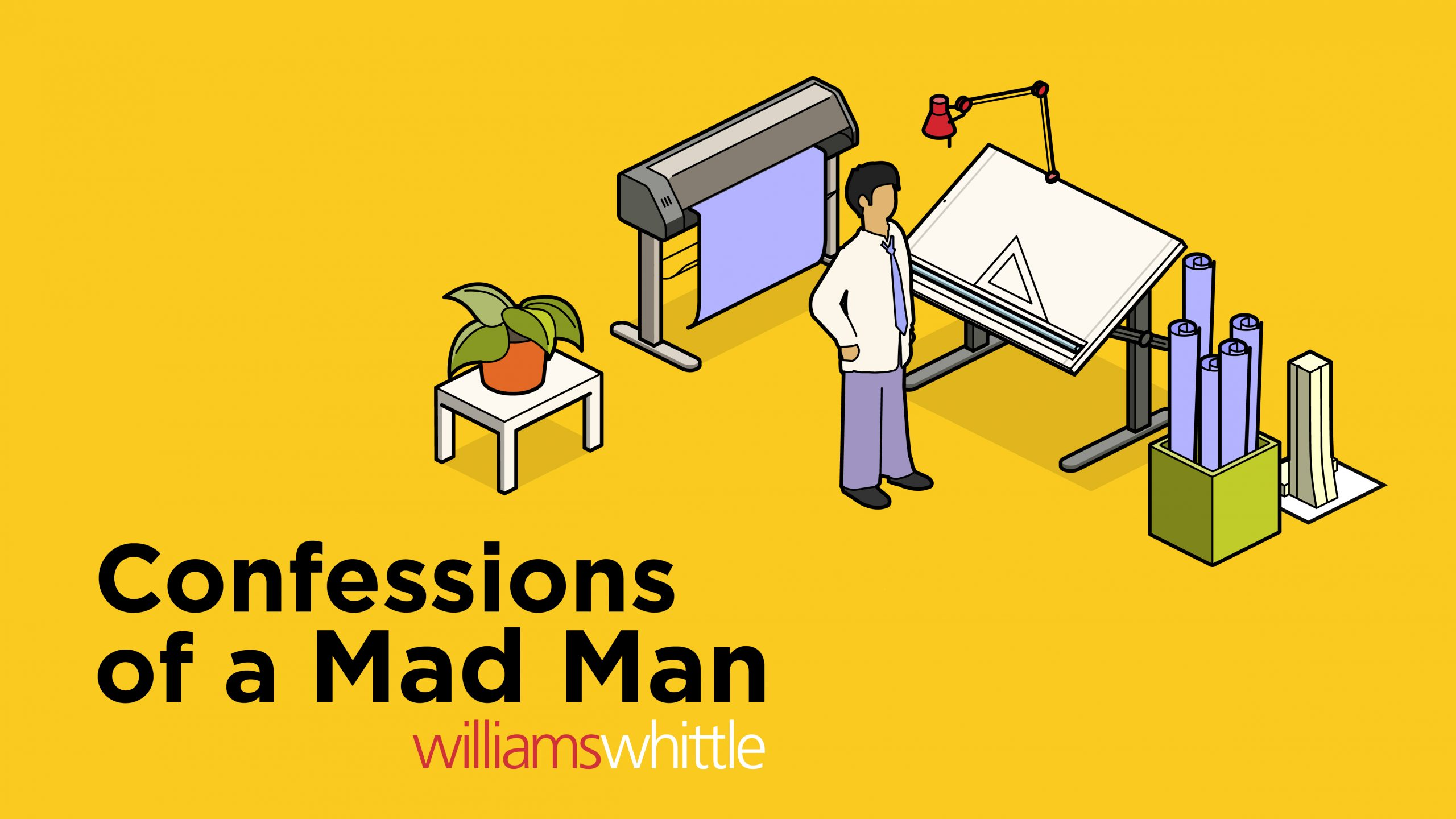 Confessions of a mad man blog image
